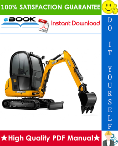JCB 8020 Mini Excavator Service Repair Manual | eBooks | Technical