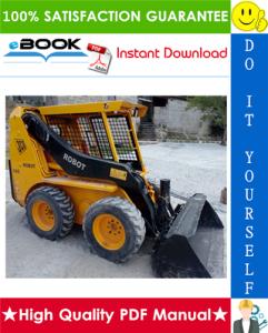 JCB Robot 150, 165, 165HF Skid Steer Loader Service Repair Manual | eBooks | Technical