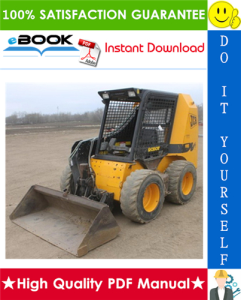 jcb robot 185, 185hf, 1105, 1105hf skid steer loader service repair manual