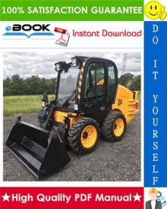 JCB Robot 160, 170, 170HF, 180, 180HF, 180T, 180T HF Skid Steer Loader Service Repair Manual | eBooks | Technical
