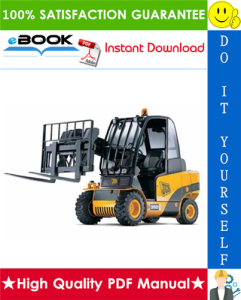 JCB 2.0D/G, 2.5D/G, 3.0D/G, 4x4 3.0D, 4x4 3.5D Teletruk Service Repair Manual (Part Number: 9803/3400) | eBooks | Technical