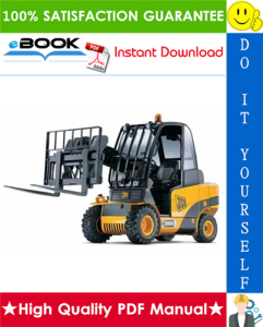 JCB 2.0D/G, 2.5D/G, 3.0D/G, 4x4 3.0D, 4x4 3.5D Teletruk Service Repair Manual (Part Number: 9803/9510) | eBooks | Technical