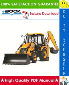 jcb 3dx backhoe loader service repair manual