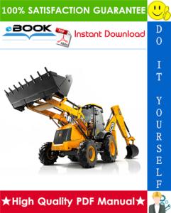 jcb 3cx, 4cx backhoe loader service repair manual (sn: 3cx 4cx-290000 to 400000)