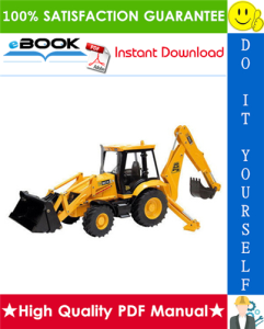 JCB 3CX, 4CX (with JCB 444 Engine) Backhoe Loader Service Repair Manual | eBooks | Technical