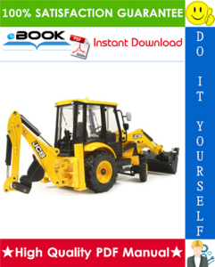 JCB Midi CX Backhoe Loader Service Repair Manual | eBooks | Technical