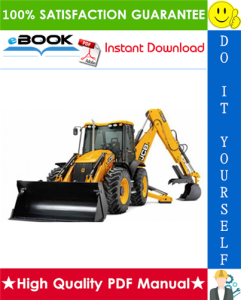 JCB 3CX, 4CX Backhoe Loader Service Repair Manual (S/N: 2000000 onwards) | eBooks | Technical