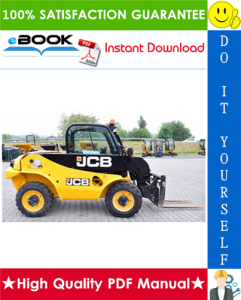 jcb 520 telescopic handler service repair manual