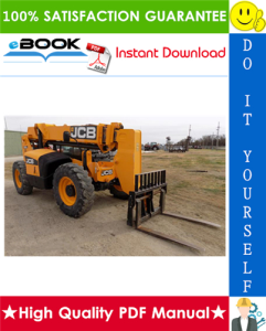 jcb 505-19, 505-22, 506-36, 506b, 508-40, 510-40 telescopic handler service repair manual