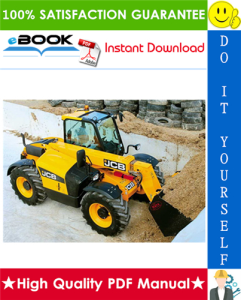 jcb 520-55, 526, 526s, 526-55 telescopic handler service repair manual