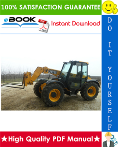 jcb 504b, 526 telescopic handler service repair manual