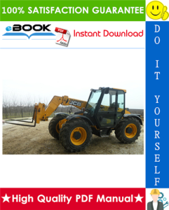 jcb 520-50, 520 (n. am), 525-50, 525-50s telescopic handler service repair manual