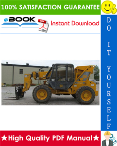 jcb 506b, 506c, 506chl, 508c telescopic handler service repair manual