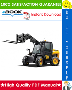 jcb 515-40, 520-40, 524-50, 527-55 telescopic handler service repair manual