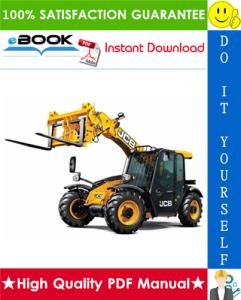 JCB 526-55, 526S, 528-70, 528S (JCB 444 Engine) Rear Engine Loadalls Service Repair Manual | eBooks | Technical