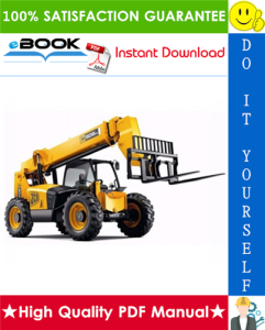 jcb 506-36, 507-42, 509-42, 510-56 telescopic handler service repair manual
