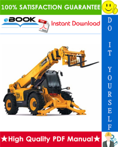 jcb 540-170, 550-140, 540-140, 550-170, 535-125 hiviz, 535-140 hiviz telescopic handler service repair manual