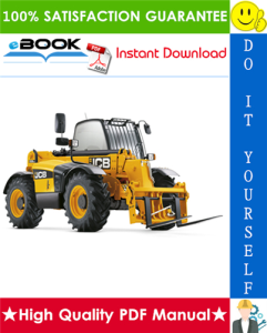 jcb 531-70, 533-105, 535-95, 536-60, 536-70, 526-56, 541-70 (jcb 444 engine) tier 3 engine telescopic handler service repair manual