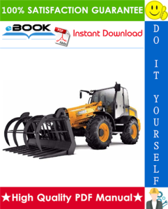 JCB TM310 Farm Master Loader Service Repair Manual | eBooks | Technical
