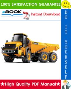 JCB 722 Articulated Dump Truck Service Repair Manual | eBooks | Technical