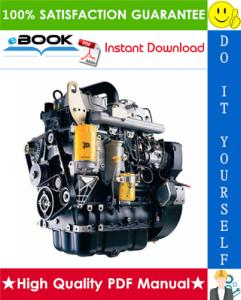 JCB 444 Mechanical Engine Service Repair Manual | eBooks | Technical