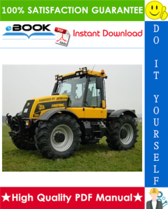 JCB 2115, 2125, 2135, 2140, 2150, 3155, 3185 Fastrac Service Repair Manual | eBooks | Technical