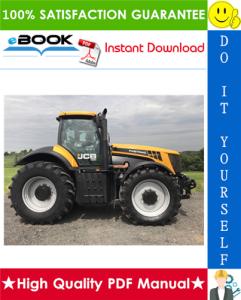 JCB 8250 Fastrac Service Repair Manual | eBooks | Technical