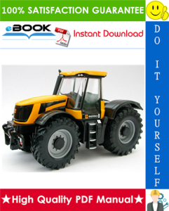 JCB 8250 Fastrac Service Repair Manual | eBooks | Technical