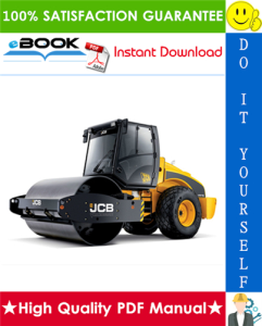jcb vibromax vm range tier 2 single drum roller service repair manual
