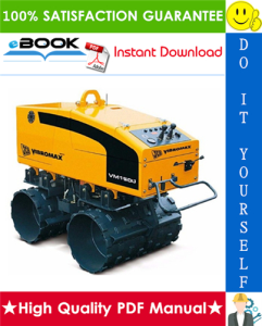 JCB Vibromax VM 1500 Trench Roller Service Repair Manual | eBooks | Technical