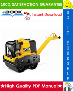 JCB Vibromax VMD70 / VMD100 Double Drum Walk Behind Roller Service Repair Manual | eBooks | Technical
