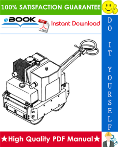 JCB Vibromax 70B Walk-Behind Roller Service Repair Manual | eBooks | Technical