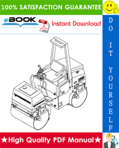 JCB Vibromax 255 / 265 Tandem Roller Service Repair Manual | eBooks | Technical