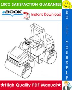 jcb vibromax 355 / 365 / 455 / 465 tandem roller, 355k / 365k / 455k / 465k combination roller service repair manual