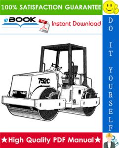 JCB Vibromax 752c Tandem Drum Roller Service Repair Manual | eBooks | Technical