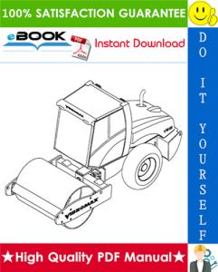 JCB Vibromax VM66 Single Drum Roller Service Repair Manual | eBooks | Technical