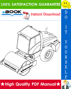 JCB Vibromax VM116 / VM146 / VM166 / VM186 Single Drum Roller Service Repair Manual | eBooks | Technical