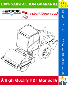 JCB Vibromax VM106 Single Drum Roller Service Repair Manual | eBooks | Technical