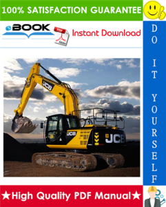 JCB JS Machines Track Service Repair Manual | eBooks | Technical
