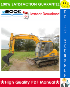 jcb js70 tracked excavators service repair manual