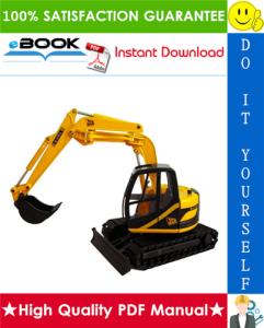 jcb jz70 tracked excavators service repair manual