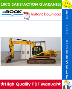 JCB JS200LC, JS240LC, JS300LC, JS450LC Tracked Excavators Service Repair Manual | eBooks | Technical