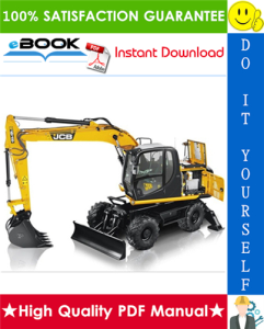 JCB JS130W, JS145W, JS160W, JS175W Wheeled Excavators Service Repair Manual | eBooks | Technical