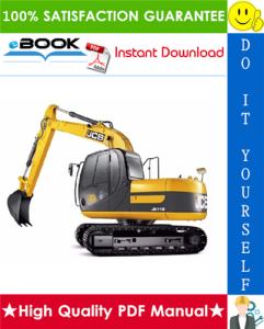 JCB JS115 Auto, JS130 Auto, JS130 LC Auto, JS145 Auto, JS160 Auto, JS180 Auto, JS190 Auto Tracked Excavators Service Repair Manual | eBooks | Technical