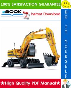 JCB JS175W Auto Wheeled Excavators Service Repair Manual | eBooks | Technical