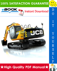 JCB JS200, JS210, JS220, JS235, JS240, JS260 Auto Tier 3 Tracked Excavators Service Repair Manual | eBooks | Technical