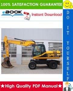 JCB JS200W Tier 3 Wheeled Excavators Service Repair Manual | eBooks | Technical