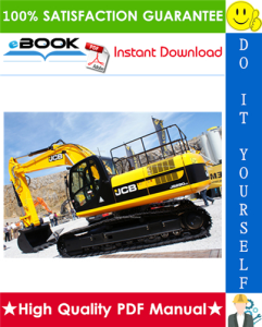 JCB JS290 Auto Tier 3 Tracked Excavators Service Repair Manual | eBooks | Technical