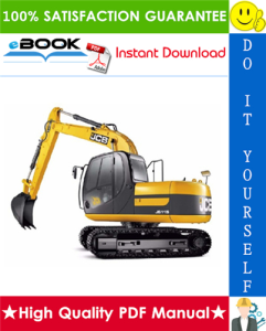 JCB JS115, JS130, JS145 Auto Tier 3 Tracked Excavators Service Repair Manual | eBooks | Technical