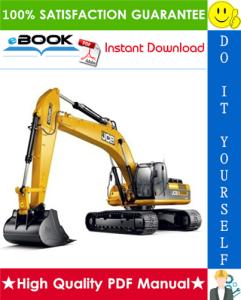JCB JS360 Tier 3 Auto Tracked Excavators Service Repair Manual | eBooks | Technical